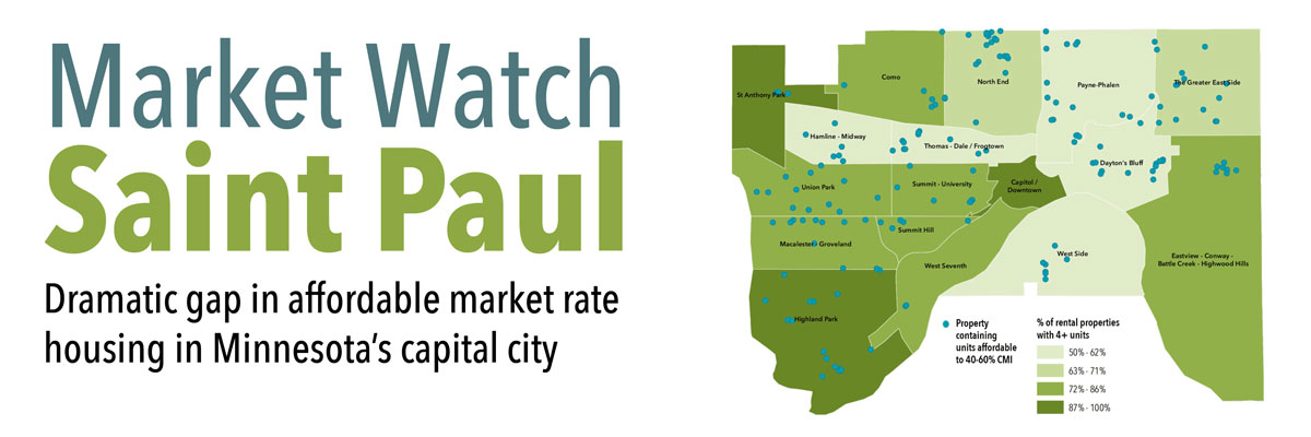 New report on naturally occurring affordable housing focuses on Saint Paul