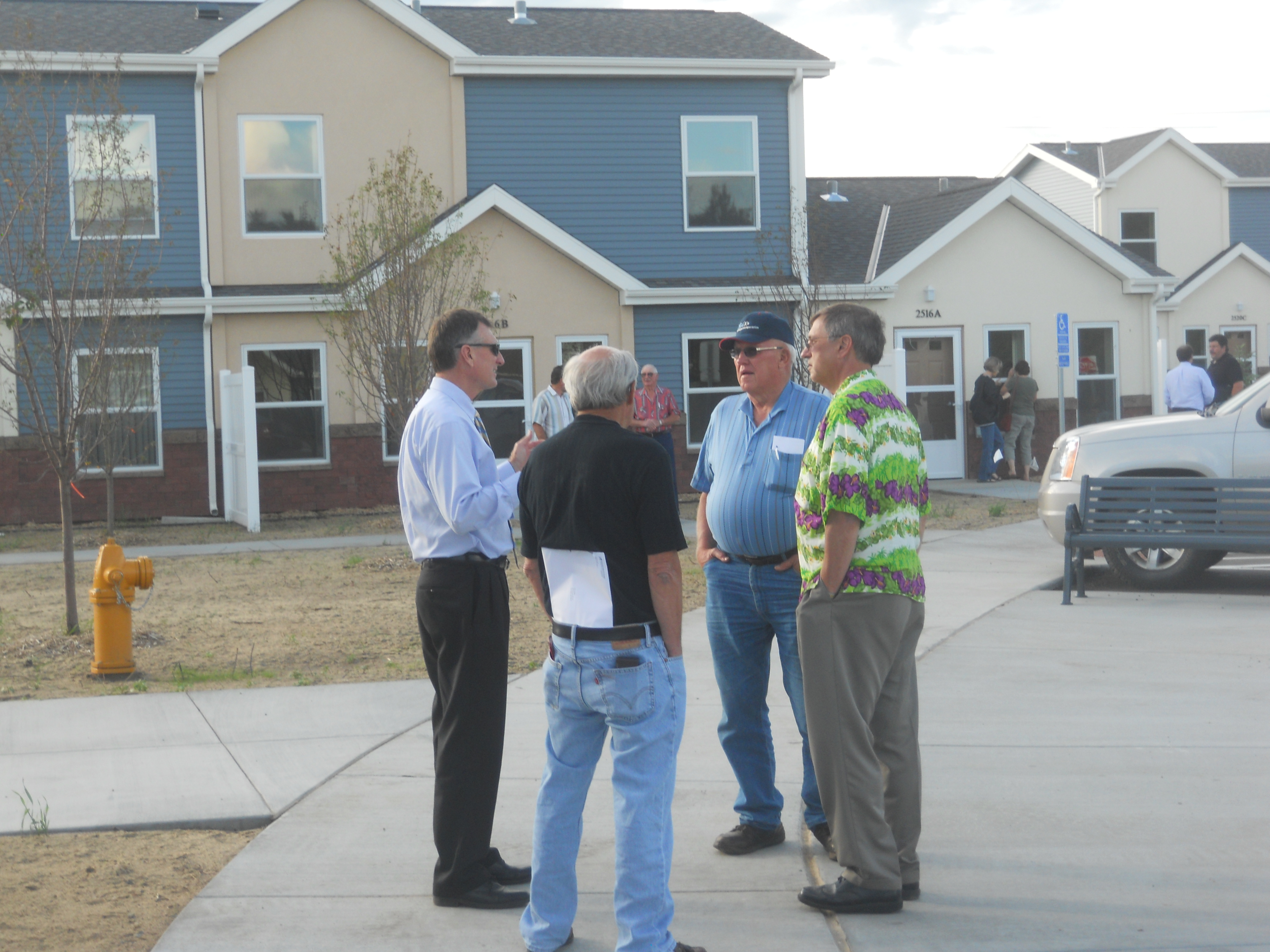 commissioners tour conifer est